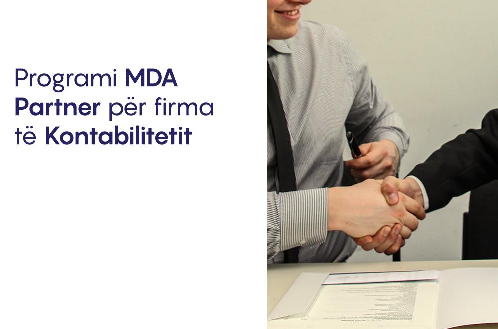 Programi mDA Partner për firma të kontabilitetit.