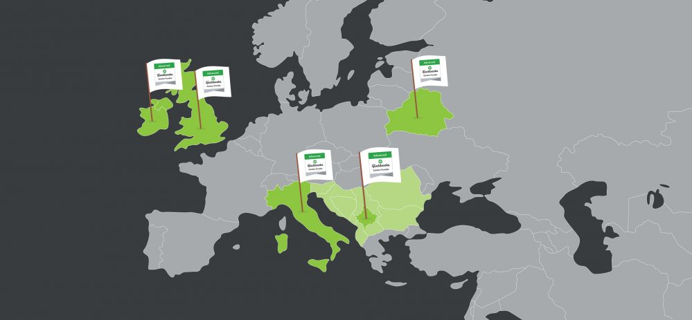 harta botërore me disa vende të theksuara